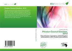 Bookcover of Preston Council Election, 2012