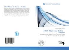 Copertina di 2010 Aberto de Bahia – Doubles