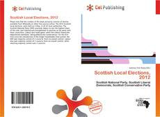 Portada del libro de Scottish Local Elections, 2012