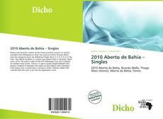 2010 Aberto de Bahia – Singles的封面