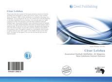 Capa do livro de César Lolohea