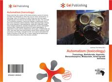 Couverture de Automatism (toxicology)
