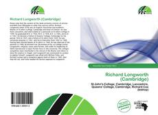 Richard Longworth (Cambridge) kitap kapağı