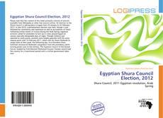 Bookcover of Egyptian Shura Council Election, 2012