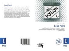 Portada del libro de Lead Paint