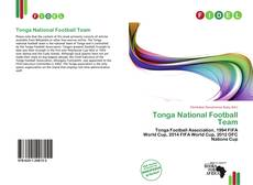 Portada del libro de Tonga National Football Team