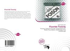Bookcover of Fluoride Toxicity