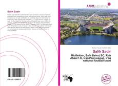 Bookcover of Salih Sadir