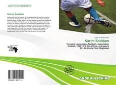 Karim Saddam kitap kapağı