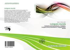 Portada del libro de Langues munda