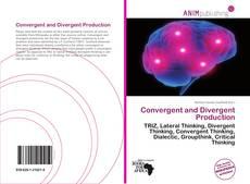 Borítókép a  Convergent and Divergent Production - hoz