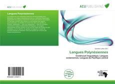 Portada del libro de Langues Polynésiennes
