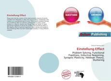 Capa do livro de Einstellung Effect