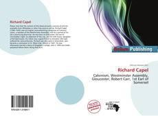 Buchcover von Richard Capel