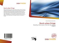 Bookcover of Rural–urban Fringe