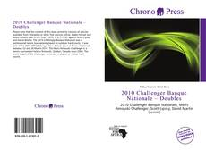Capa do livro de 2010 Challenger Banque Nationale – Doubles