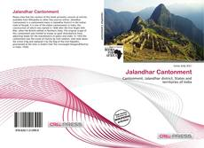 Buchcover von Jalandhar Cantonment