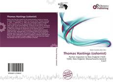 Обложка Thomas Hastings (colonist)