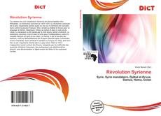 Bookcover of Révolution Syrienne