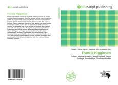 Обложка Francis Higginson