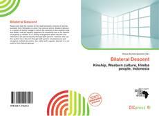 Portada del libro de Bilateral Descent