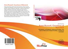 Couverture de Anne Russell, Countess of Warwick
