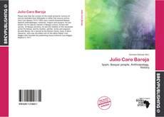 Portada del libro de Julio Caro Baroja
