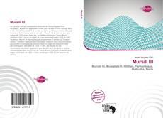 Bookcover of Mursili III