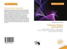 Portada del libro de Thomas Blake (minister)