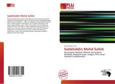 Bookcover of Subkhiddin Mohd Salleh