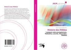 Histoire des Hittites kitap kapağı