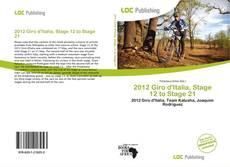 Borítókép a  2012 Giro d'Italia, Stage 12 to Stage 21 - hoz