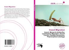 Bookcover of Insect Migration