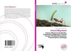 Couverture de Insect Migration