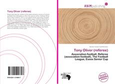 Capa do livro de Tony Oliver (referee)