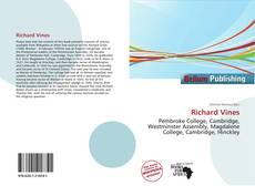 Richard Vines kitap kapağı