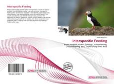 Bookcover of Interspecific Feeding