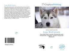 Capa do livro de Lone Wolf (trait)