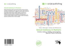 Buchcover von Sexual Jealousy in Humans