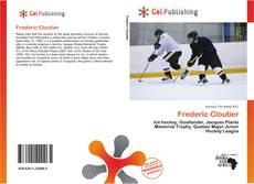 Frederic Cloutier kitap kapağı