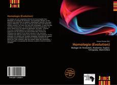 Couverture de Homologie (Évolution)