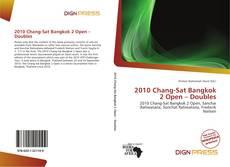 Bookcover of 2010 Chang-Sat Bangkok 2 Open – Doubles