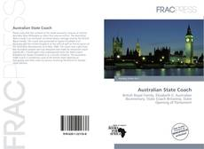 Bookcover of Australian State Coach