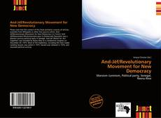 Bookcover of And-Jëf/Revolutionary Movement for New Democracy