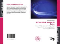 Bookcover of Alfred Stock Memorial Prize