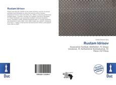 Capa do livro de Rustam Idrisov