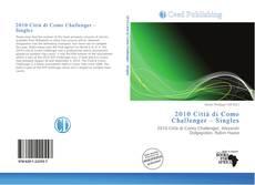 Portada del libro de 2010 Città di Como Challenger – Singles