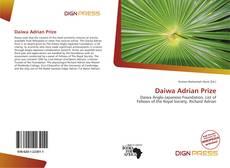 Обложка Daiwa Adrian Prize
