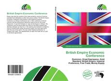 Bookcover of British Empire Economic Conference
