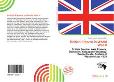 Bookcover of British Empire in World War II
